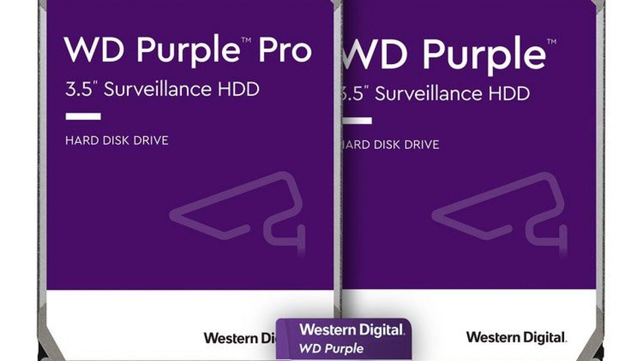 WD Purple Pro özellikleri
